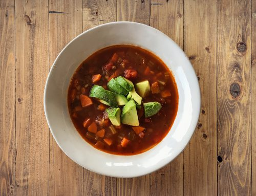 Hearty Lentil and Tomato Soup